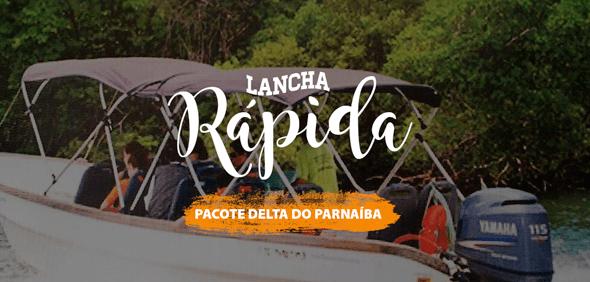 Lancha Rápida - Pacote Delta do Parnaíba